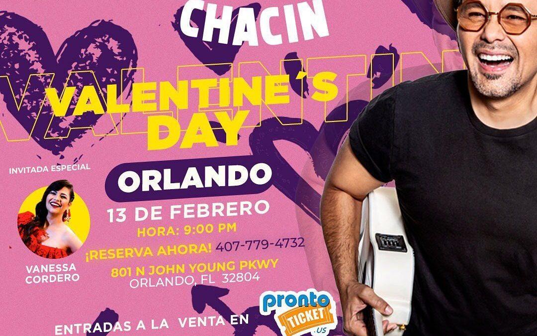 Jorge Luis Chacín en Concierto – GC Entertainments